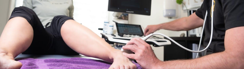 Snel en pijnloos de blessure opzoeken met echografie? Dat kan bij Zandstra en van der Meer Franeker