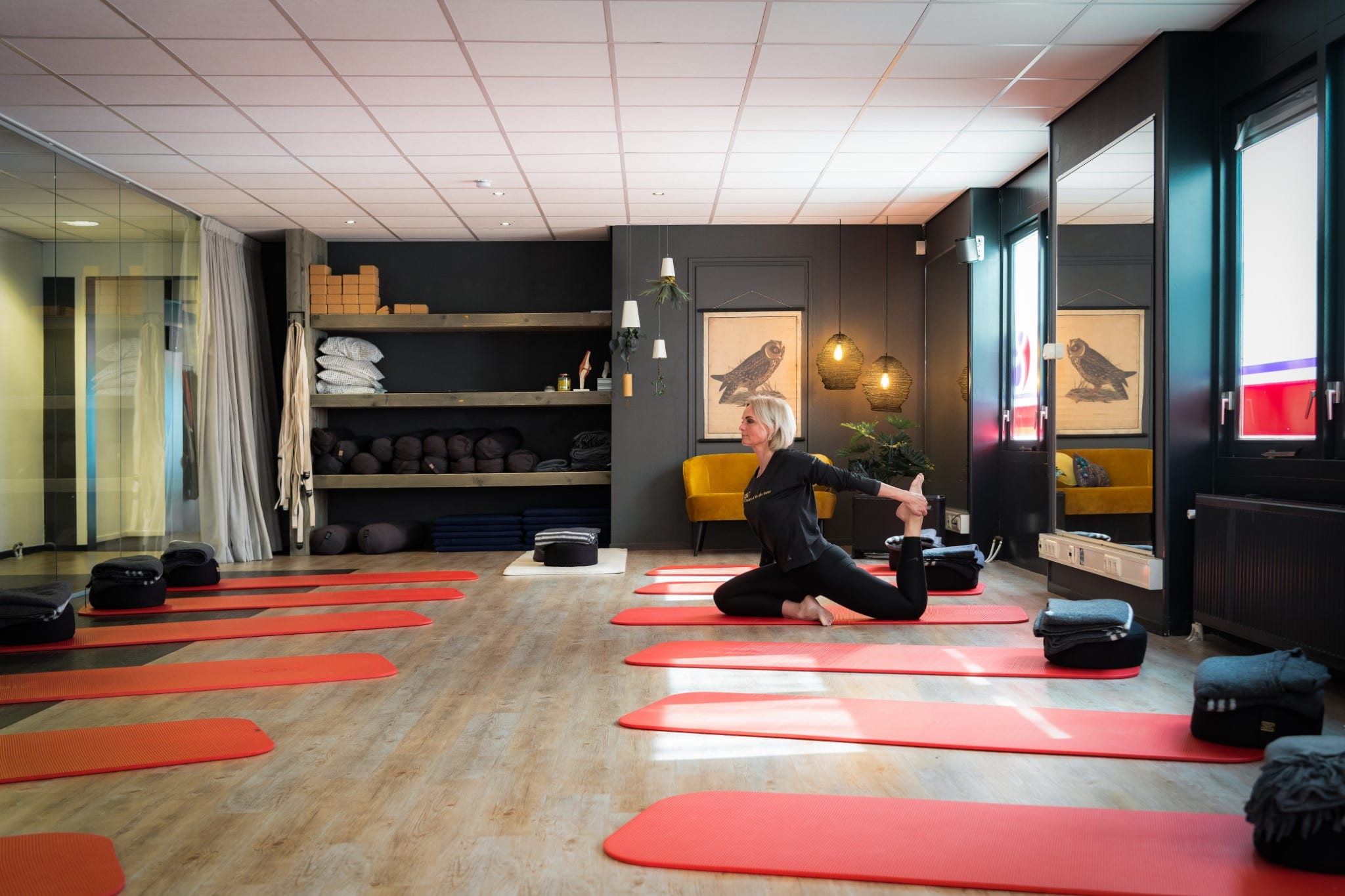 Yin Yoga lessen in Franeker door Harmet en Fred