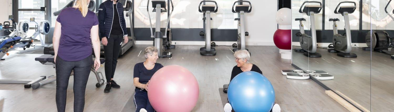 Kom in beweging en ga sporten om fit te blijven